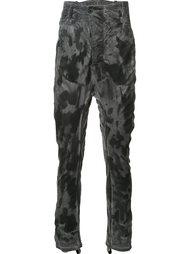 камуфляжные брюки с заниженной шаговой линией 11 By Boris Bidjan Saberi