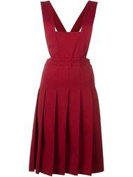 трикотажное платье-передник Comme Des Garçons Vintage