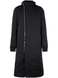 пальто с асимметричной застежкой на молнию Rick Owens DRKSHDW