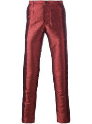 metallic tailored trousers Christian Pellizzari