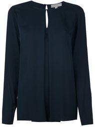 блузка с плиссировкой  Michael Kors