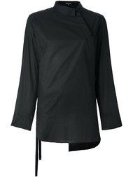 рубашка с асимметричным воротником Ann Demeulemeester