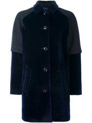 пальто с контрастными панелями Kolor