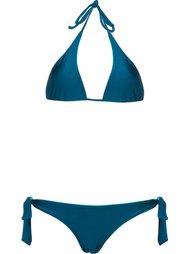 halterneck bikini set Blue Man