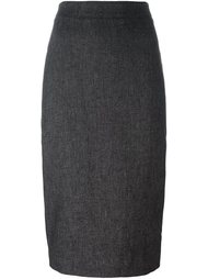 юбка-карандаш средней длины DKNY