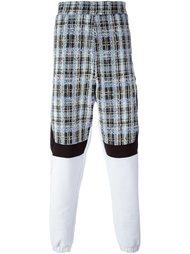 спортивные брюки с твидовыми панелями Astrid Andersen