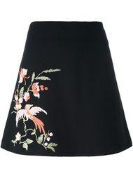 юбка А-образного силуэта с вышивкой Vivetta