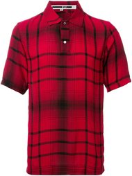 рубашка-поло в клетку McQ Alexander McQueen
