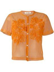 сетчатая рубашка с короткими рукавами Comme Des Garçons Vintage