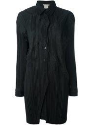 pleated shirt dress Issey Miyake Vintage