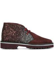 ботинки с блестками Pollini
