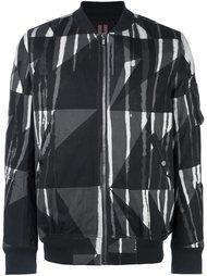 камуфляжная куртка бомбер Rick Owens DRKSHDW