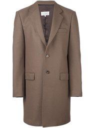 однобортное пальто на пуговицах Maison Margiela