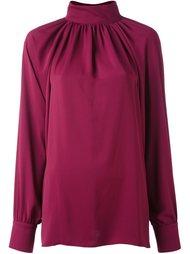 блузка с укороченной спинкой и сборками Sonia By Sonia Rykiel