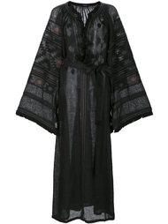 embroidered tasseled dress Vita Kin