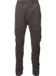 зауженные брюки с панельным дизайном Julius