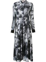 платье с цветочным принтом   Christopher Kane