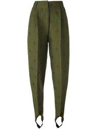 брюки с завышенной талией Jean Paul Gaultier Vintage