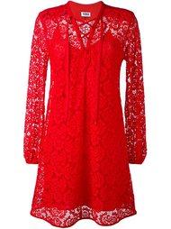кружевное платье с завязками Sonia By Sonia Rykiel