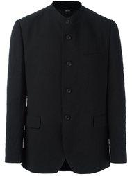 фактурный пиджак с воротником-стойкой Issey Miyake Men
