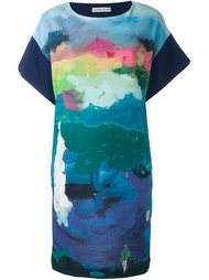 платье с рисунком-пейзажем Tsumori Chisato