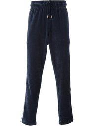 велюровые спортивные брюки Adidas Originals