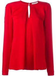 блузка с плиссировкой  Michael Michael Kors