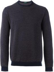 свободный свитер Zanone