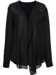 draped front shirt  Yohji Yamamoto