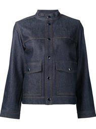 denim cropped jacket Vanessa Seward
