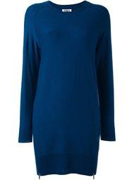 платье-свитер с молниями Sonia By Sonia Rykiel