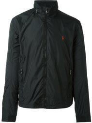 куртка на молнии с вышитым логотипом Polo Ralph Lauren