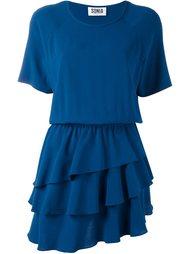платье с оборками Sonia By Sonia Rykiel