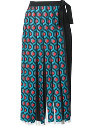 fringed wrap maxi skirt Delpozo