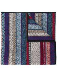 трикотажный шарф в полоску Missoni