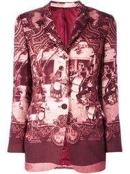 """пиджак с принтом в стиле """"барокко"""" Jean Paul Gaultier Vintage"""