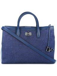 textured tote bag Diane Von Furstenberg