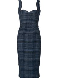 fitted tweed dress  Victoria Beckham