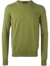 вязаный свитер в рубчик  Fay