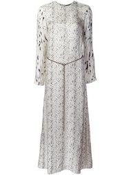 длинное платье  Calvin Klein Collection