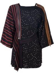 топ-кимоно с комбинированным принтом 3.1 Phillip Lim