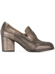 metallic loafer shoes  Chie Mihara