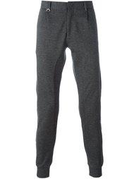 брюки с присборенными щиколотками Paolo Pecora