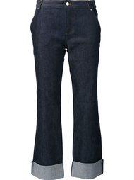 straight leg cropped jeans Vanessa Seward