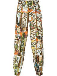 брюки с принтом  Gosha Rubchinskiy