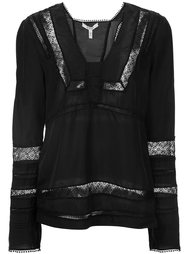 lace panel blouse  Derek Lam 10 Crosby
