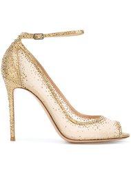 декорированные туфли Gianvito Rossi
