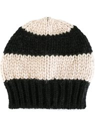 вязаная шапка-бини в полоску Danielapi