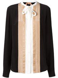 блузка с контрастными панелями Nº21