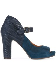 peep-toe pump shoes  Chie Mihara